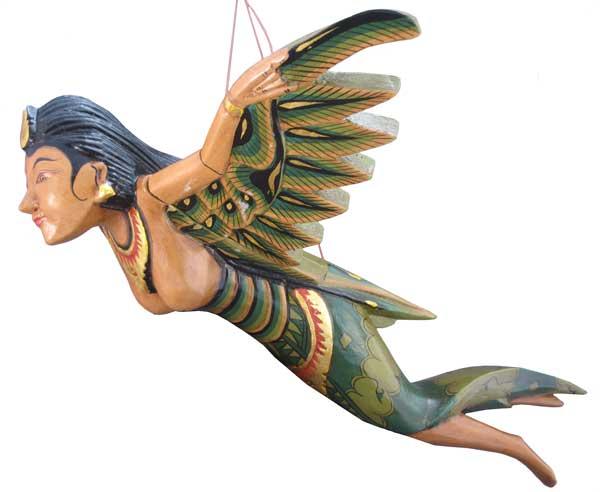 "Flying Wood Angel 12"""