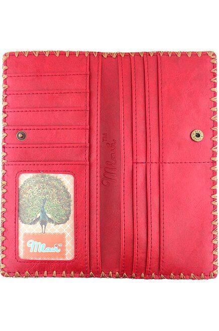 Balkan Vegan Leather Large Wallet - BW-BK004