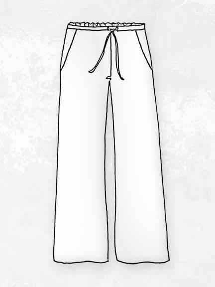 Black Picnic Pant