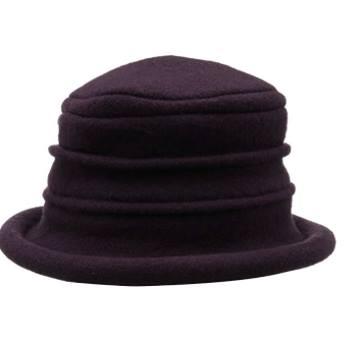 Collezione Women's Boiled 100% Wool Cloche Hat