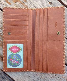 Elma Fore Brown Wallet