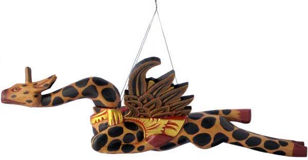 Flying Wood Giraffe.