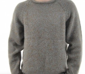 Heather Alpaca Knit Roll Neck Sweater