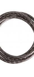 Hematite Sparkle Bangles Bracelet