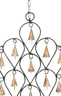 Iron Windchime with Bells