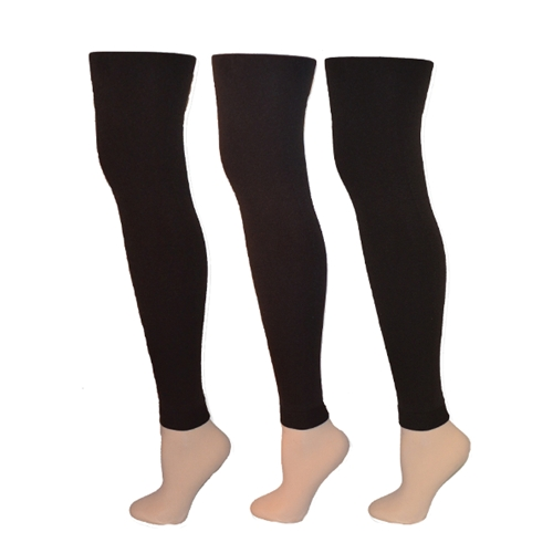 Fleece Lined Legging Brown
