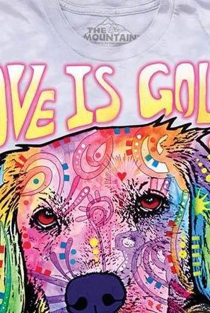 Love is Golden Kids T-Shirt