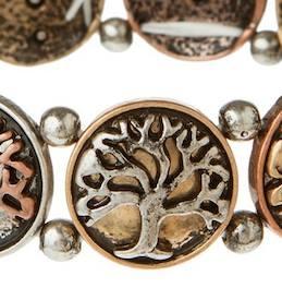 Multi Metal Layered Tree Of Life
