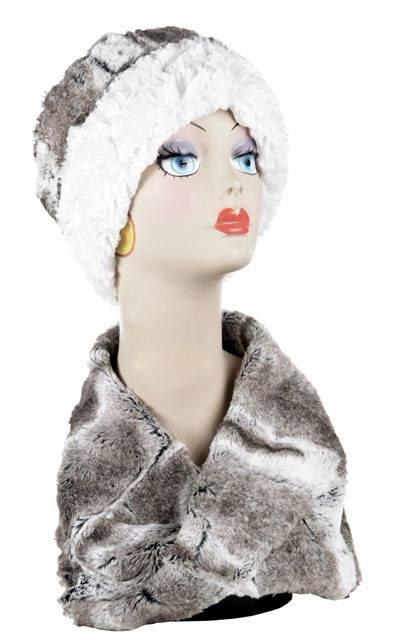 Neck Warren - Luxury Faux Fur In Birch