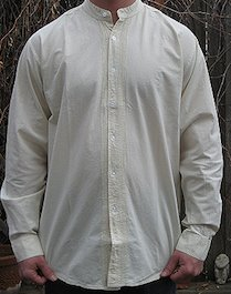Open Front Wedding Shirt Our Light Weight