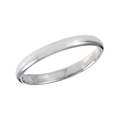 Sterling Silver High Polish Band Ring