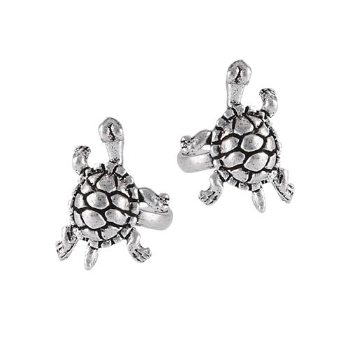 Sterling Silver Turtle Ear Cuff