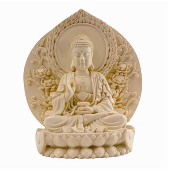 Buddha - Resin - Natural