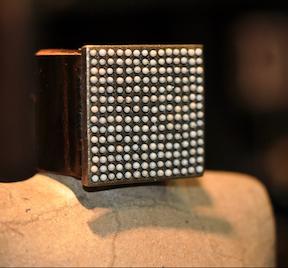 Pearl Square Bracelet