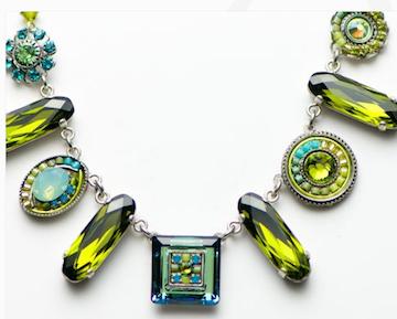 Classic Olivine Necklace