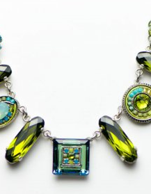 Classic Olivine Necklace