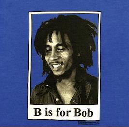 Baby-boys Bob Marley B is for Bob T-Shirt
