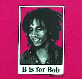 Baby Bob Marley B is for Bob T-Shirt