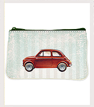 Coin Purse Red Car