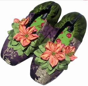 Aubergine Slippers