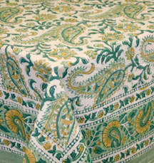 "table Cloth  Rajasthan Paisley  60""x90"""