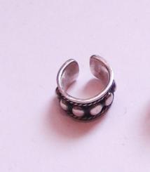BALI DESIGN Sterling Silver Ear Cuff