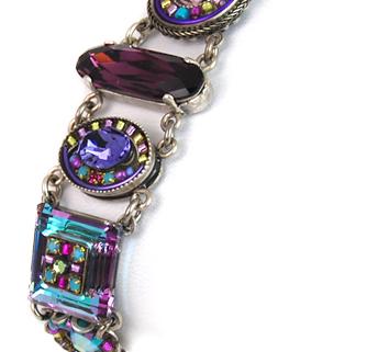 Amethyst La Dolce Vita Crystal Bracelet