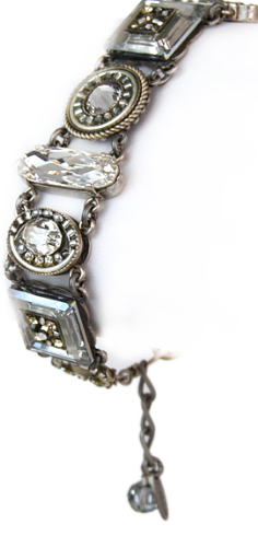Silver La Dolce Vita Crystal Bracelet