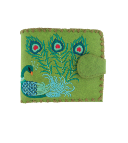 Peacock Vegan Wallet