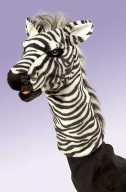 Zebra Stage Puppets