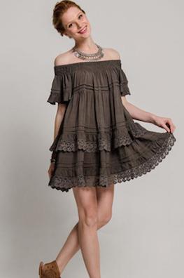 Esmeralda Grey Dress
