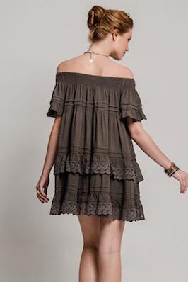 Esmeralda Black Dress