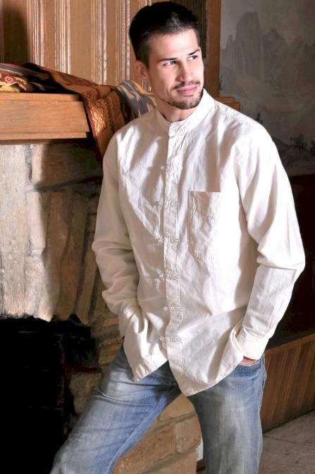 Caballero Shirt in Ivory