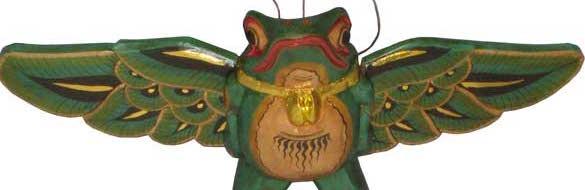 """Flying Wood Frog 6"""""""
