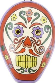 Large Sugar Skull Ocarina