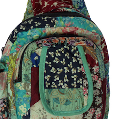 Patchwork Mini Backpack