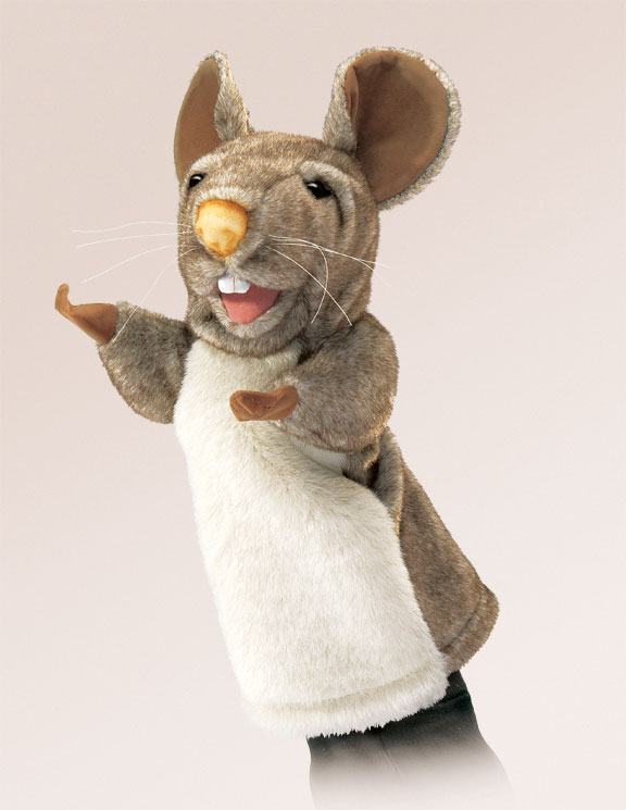 Mouse Stage Puppet
