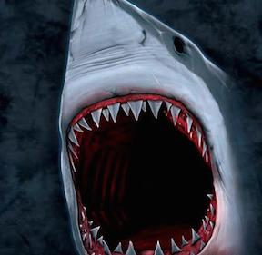 Shark Bite Kids T-shirt