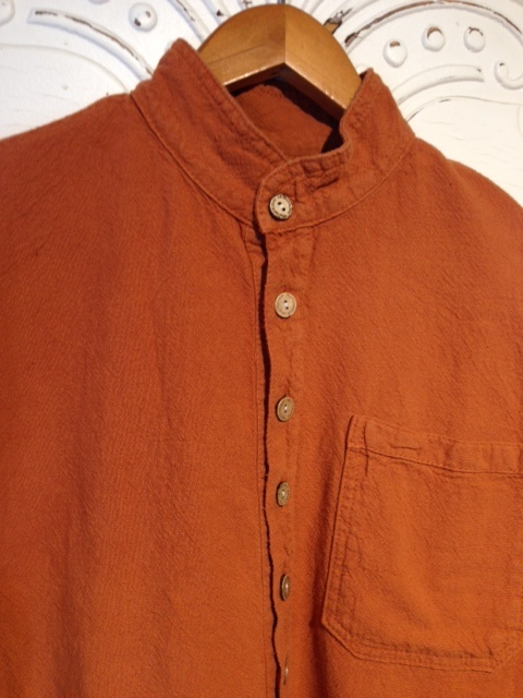 Mandarin Collar Shirt in Sierra