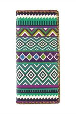 Allende Aztec print Faux Leather Wallet