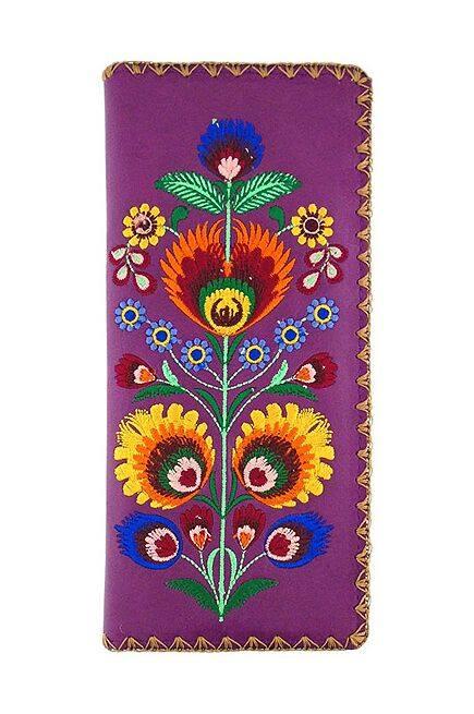Elma Purple Wallet