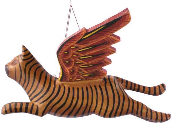 """Flying Wood Cat 10"""""""