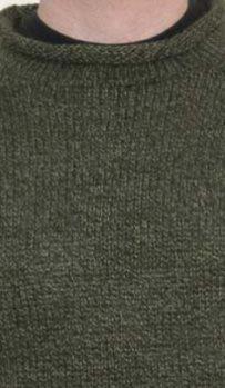 Forest Alpaca Knit Roll Neck Sweater