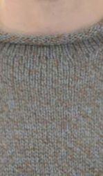 Heather Alpaca Knit Roll Neck Sweater