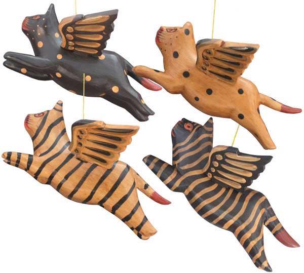 Flying Wood Kitty