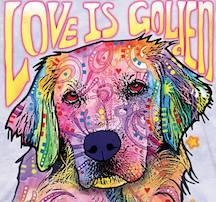 Love is Golden T-Shirt