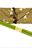 Eco-friendly chopsticks - Green Dragonfly