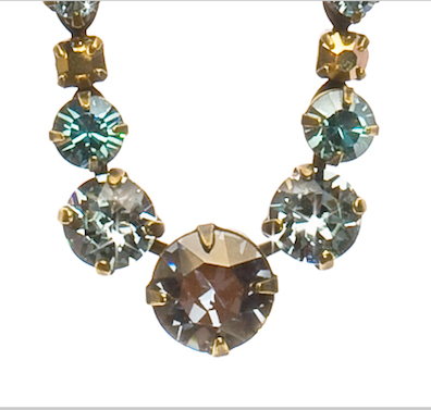 Dazzling Dotted Line Necklace