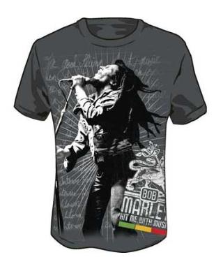 Bob Marley - Hit Me Jumbo T-Shirt