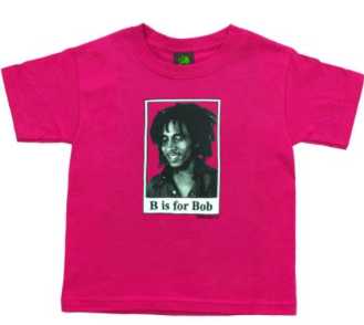 Baby Bob Marley B is for Bob T-Shirt